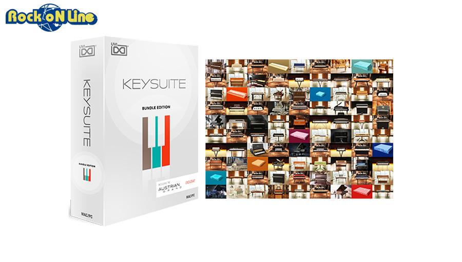 UVI(ユーブイアイ) Key Suite Bundle Edition【発売記念特価!在庫限り!】【※シリアルPDFメール納品】【DTM】