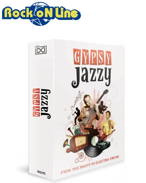 UVI(ユーブイアイ) Gypsy Jazzy【※シリアルPDFメール納品】【DTM】