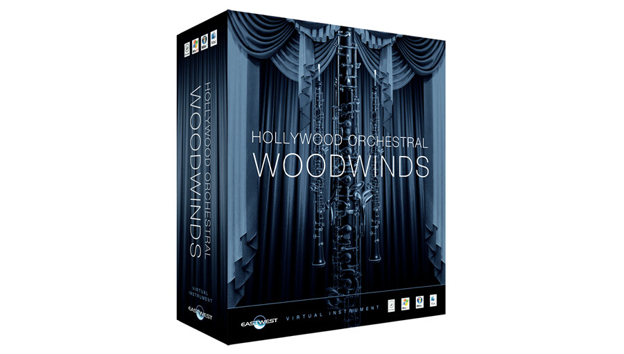 East West(イーストウェスト) Hollywood Orchestral Woodwinds Diamond Win【DTM】【ソフトシンセ】【オーケストラ音源】