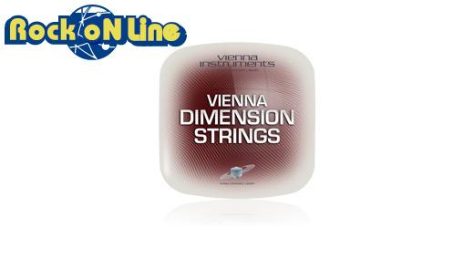 【クーポン配布中!】VIENNA(ビエナ) DIMENSION STRINGS/FL【DTM】【オーケストラ音源】