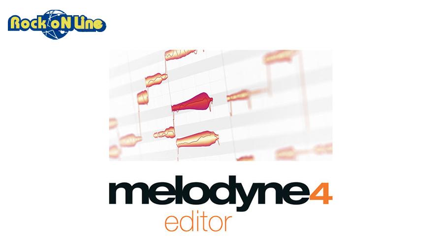 CELEMONY(セレモニー) MELODYNE 4 EDITOR【DTM】【ピッチ(音程)修正ソフト】