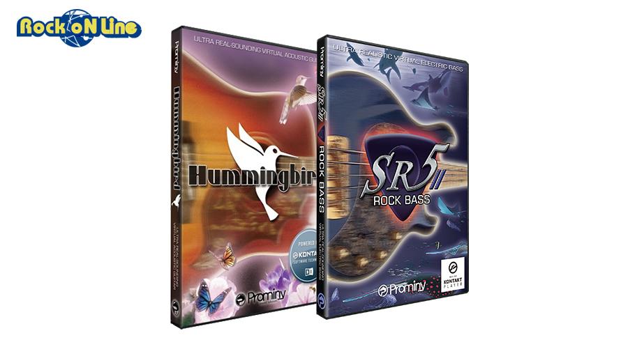 【クーポン配布中!】Prominy(プロミニー) Hummingbird & SR5 Rock Bass 2 スペシャルバンドル【3/15発売!イントロ特価キャンペーン品!】【DTM】【ソフトシンセ】【ギター音源】