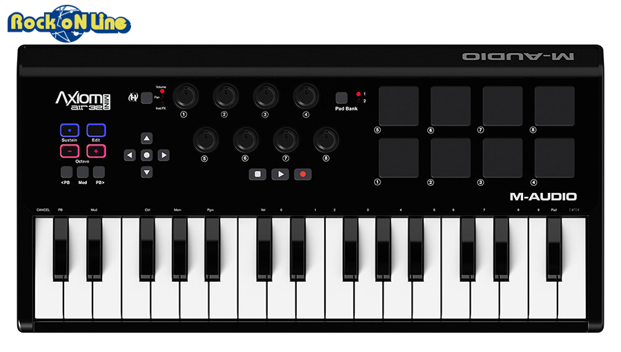 M-AUDIO(エムオーディオ) Axiom AIR mini 32【MIDIキーボード】
