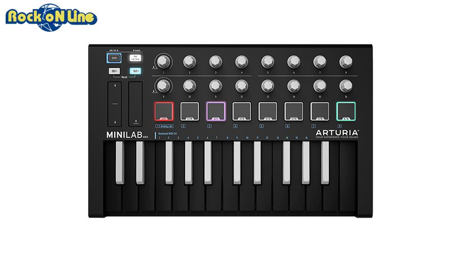 Arturia(アートリア) MiniLab MKII INVERTED【数量限定特別モデル!】【MIDIコントローラー】