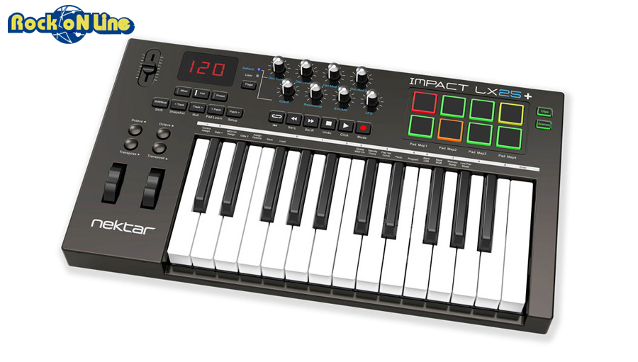 NEKTAR(ネクター) IMPACT LX25+【DTM】【MIDIキーボード】