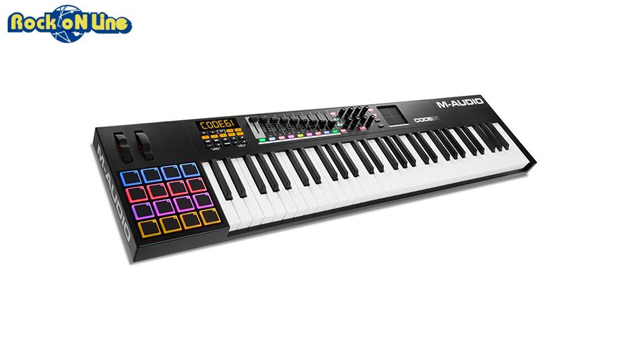 M-AUDIO(エムオーディオ) Code 61 Black【MIDIキーボード】