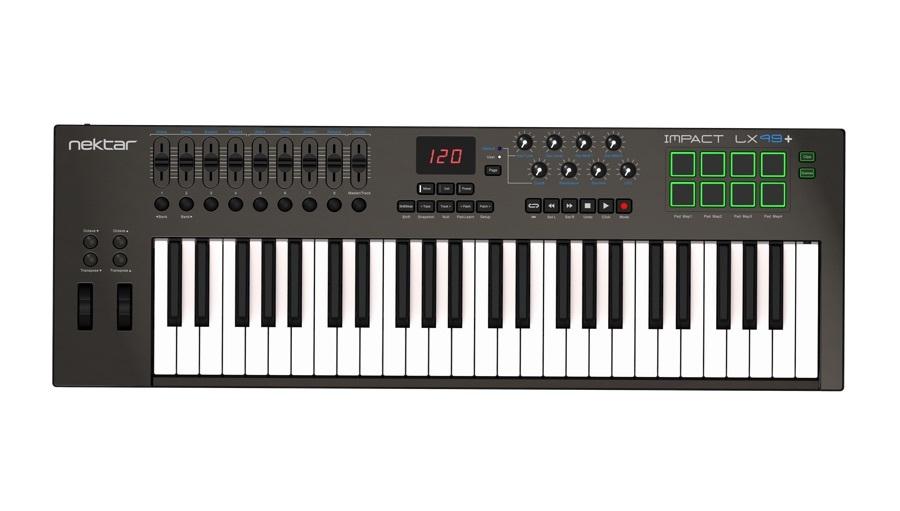 【クーポン配布中!】NEKTAR(ネクター) IMPACT LX49+【DTM】【MIDIキーボード】