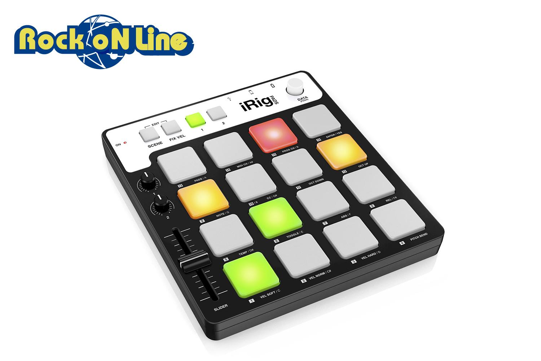 【クーポン配布中!】IK Multimedia(アイケーマルチメディア) iRig Pads【DTM】【ドラムパッド】