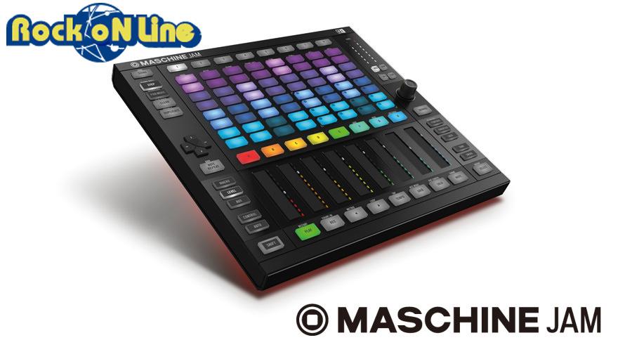 【クーポン配布中!】Native Instruments(ネイティブインストゥルメンツ) MASCHINE JAM【DTM】【ドラムマシン&サンプラー】