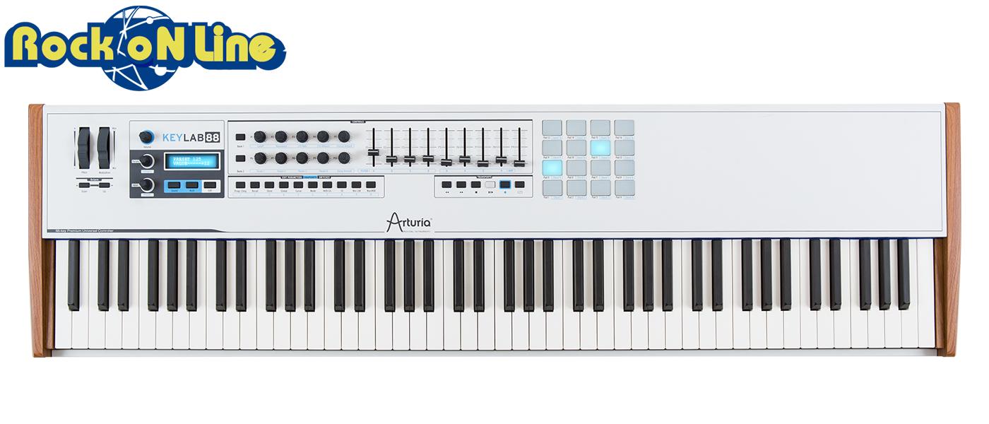 【クーポン配布中!】Arturia(アートリア) KEYLAB 88【DTM】【MIDIキーボード】