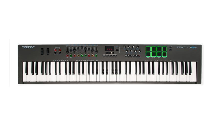 【クーポン配布中!】NEKTAR(ネクター) IMPACT LX88+【MIDIキーボード】【マスターキーボード】