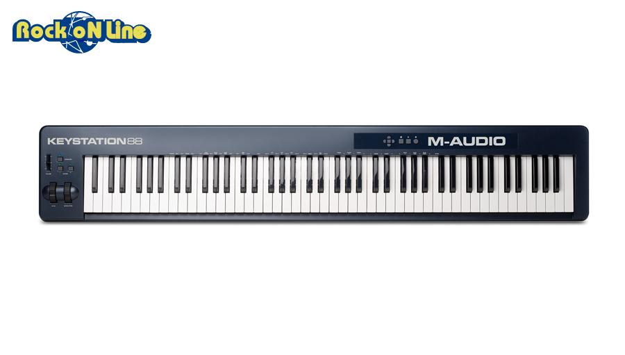 【クーポン配布中!】M-AUDIO(エムオーディオ) Keystation 88【MIDIキーボード】