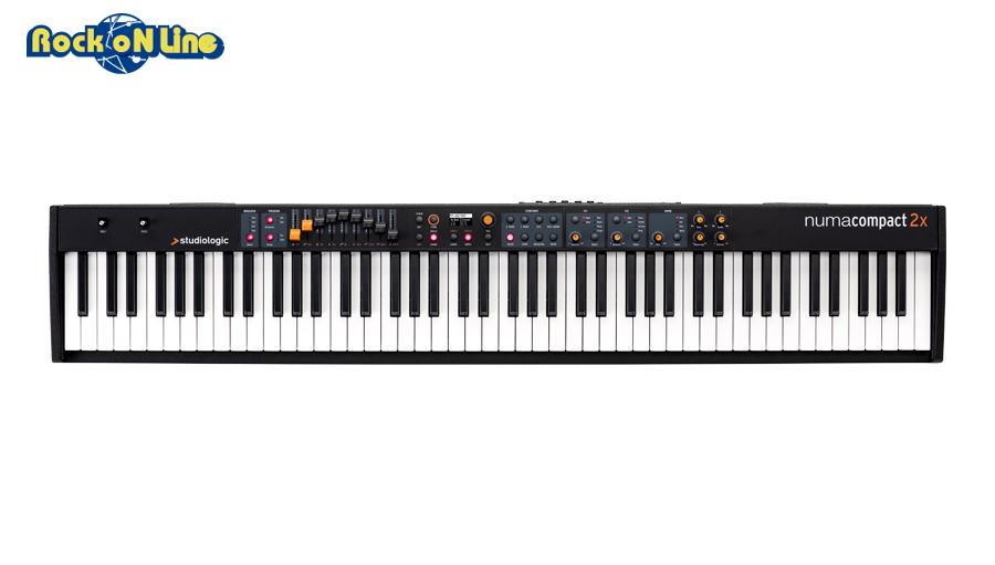 【クーポン配布中!】Studiologic(スタジオロジック) Numa Compact 2x【ピアノ/キーボード】【マスターキーボード】