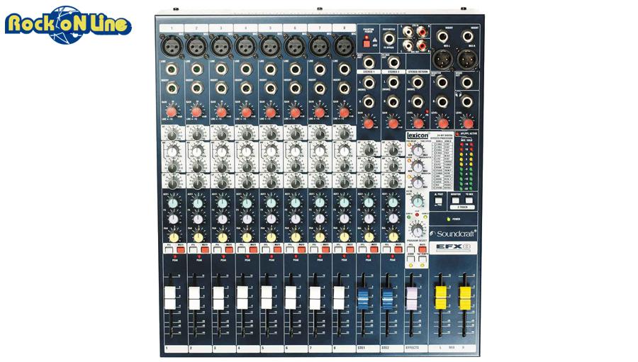 SOUNDCRAFT(サウンドクラフト) EFX8【アナログミキサー】