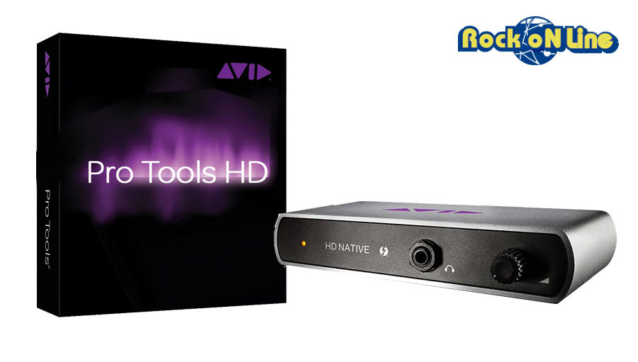 Avid(アビッド) Pro Tools HD Native TB with Pro Tools | HD Software