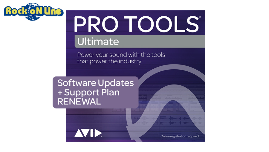 Avid(アビッド) Pro Tools | Ultimate 1-Year UPD + Support Plan RENEWAL【DTM】