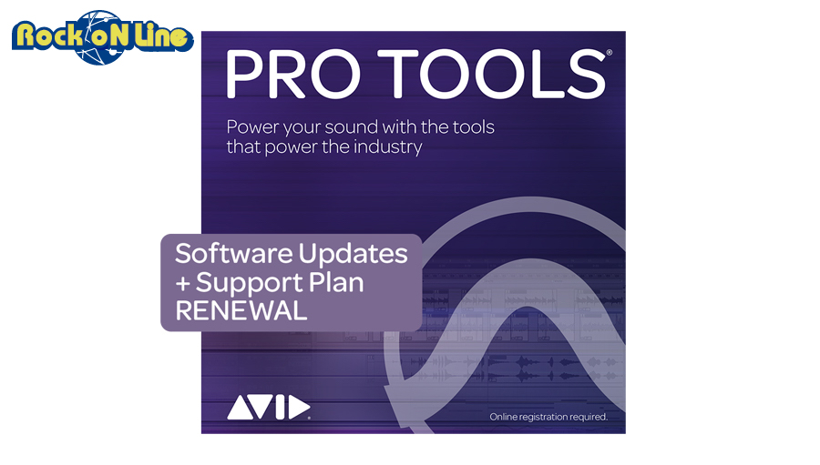 Avid(アビッド) Pro Tools 1-Year Software Updates + Support Plan RENEWAL【DTM】