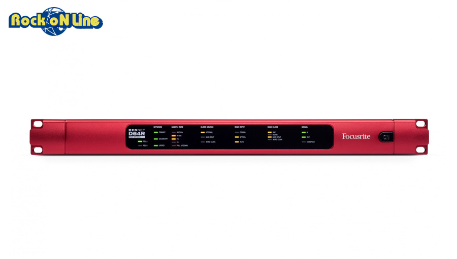 Focusrite(フォーカスライト)RedNetD64R【DTM】【オーディオインターフェイス】