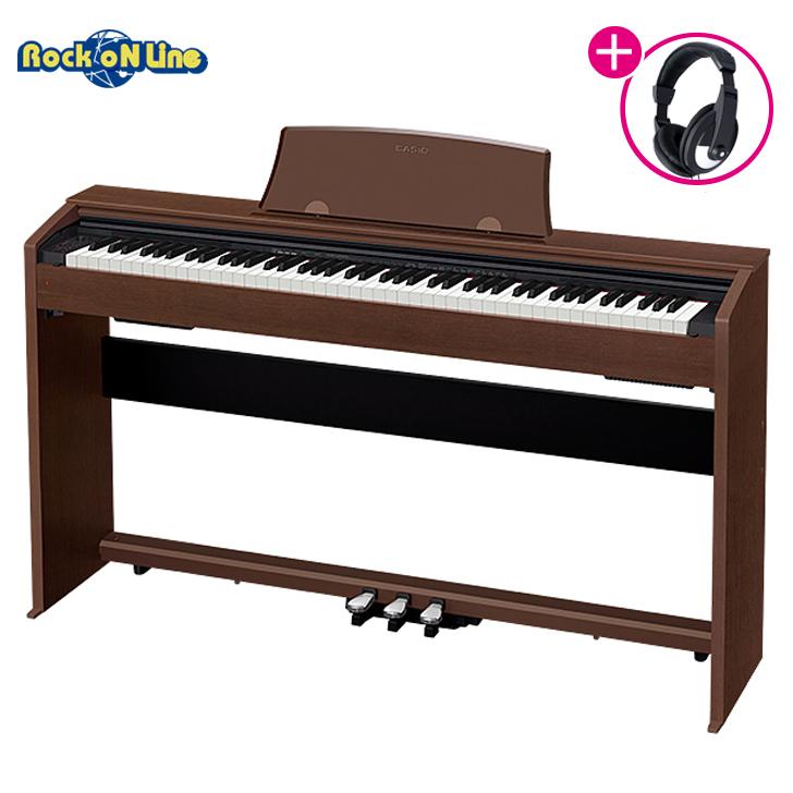 【クーポン配布中!】CASIO(カシオ) PX-770BN(オーク)【RockoN限定KIKUTANIヘッドホンプレゼント!】【電子ピアノ】【88鍵盤】