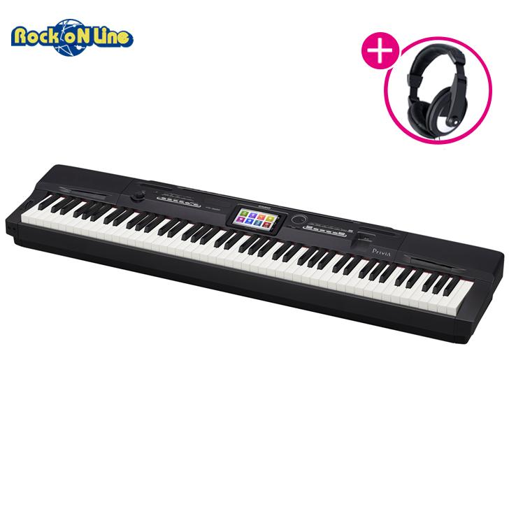 【クーポン配布中!】CASIO(カシオ) PX-360MBK【ヘッドホンプレゼント!(※2019年5月中旬頃入荷予定。後日発送)】【電子ピアノ】【88鍵盤】