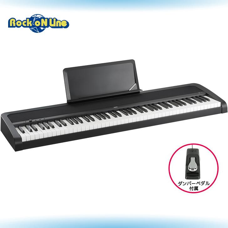 【クーポン配布中!】KORG(コルグ) B1 BK DIGITAL PIANO(ブラック)【電子ピアノ】【88鍵盤】