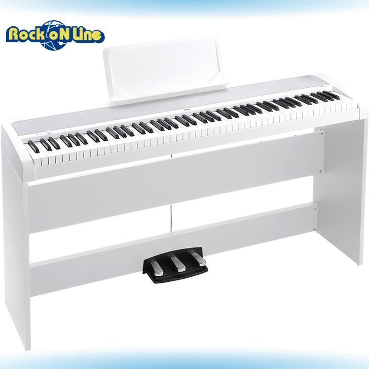 【クーポン配布中!】KORG(コルグ) B1SP WH(ホワイト)【電子ピアノ】【88鍵盤】