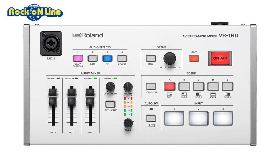 【クーポン配布中!】ROLAND VR-1HD