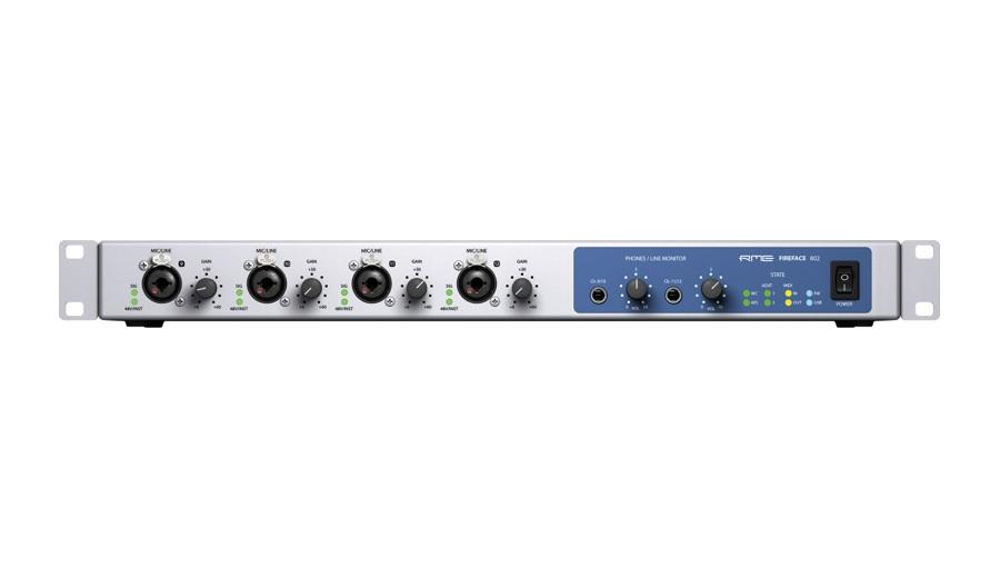 RME AUDIO アールエムイー 送料0円 オーディオ 秀逸 オーディオインターフェイス 802 Fireface DTM
