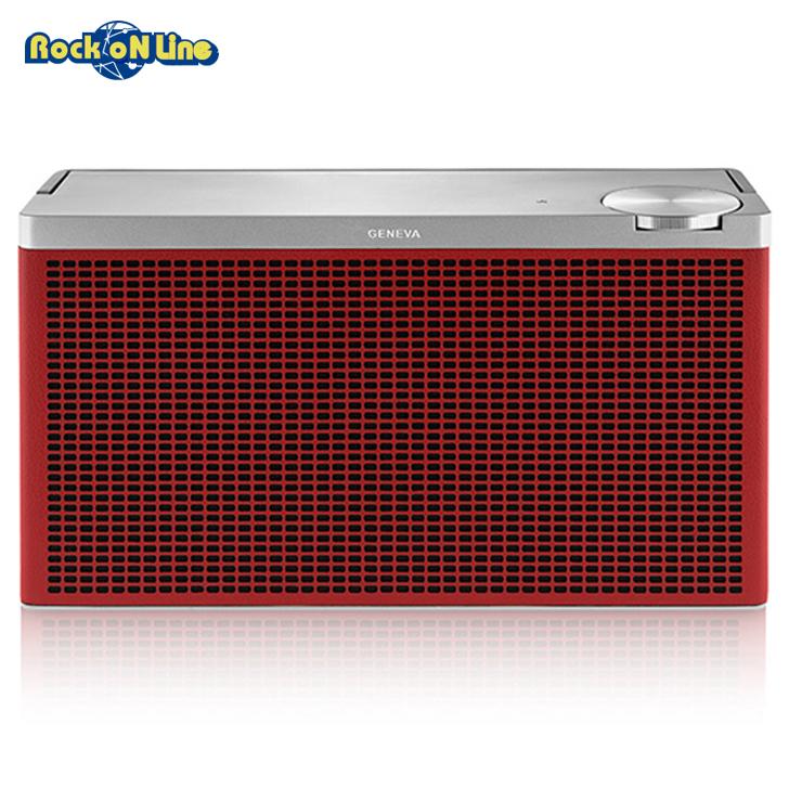 GENEVA(ジェネバ) Touring M Red(レッド)【オーディオ】【Bluetoothスピーカー】【インテリア】