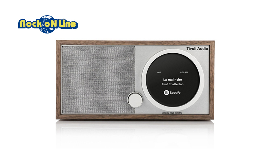 Tivoli Audio(チボリオーディオ) Model One Digital ウォールナット/グレー【オーディオ】【Bluetoothスピーカー】【インテリア】