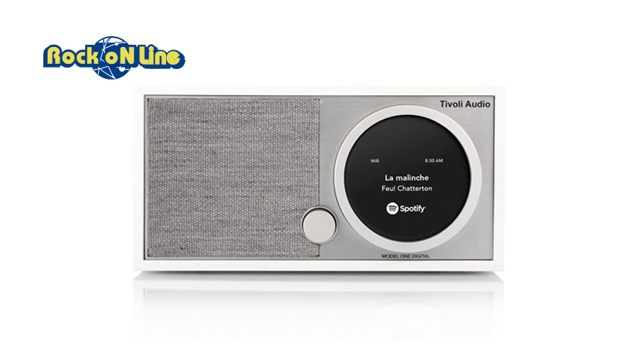 Tivoli Audio(チボリオーディオ) Model One Digital ホワイト/グレー【オーディオ】【Bluetoothスピーカー】【インテリア】
