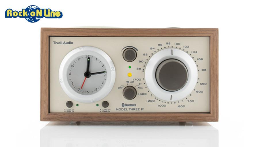 Tivoli Audio(チボリオーディオ) Model Three BT クラッシック・ウォールナット/ベージュ