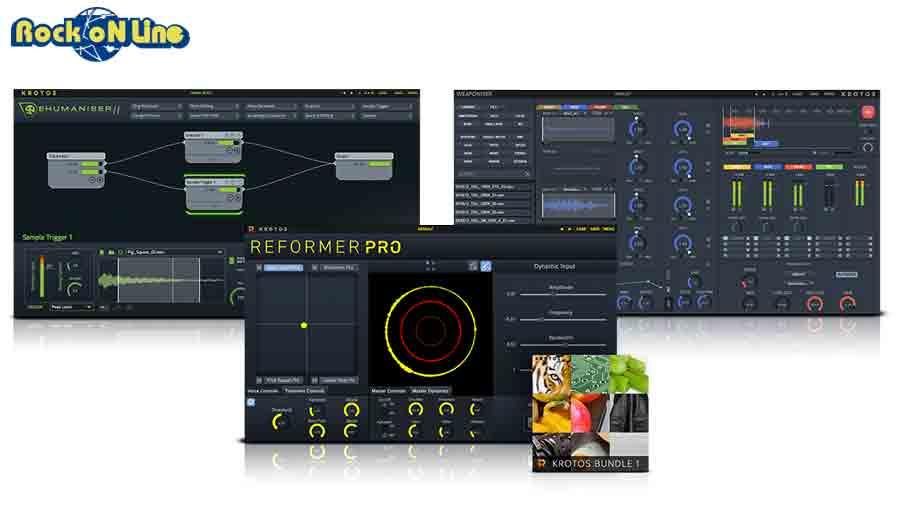 KROTOS(クロトス) Sound Design Bundle【※シリアルPDFメール納品】【DTM】