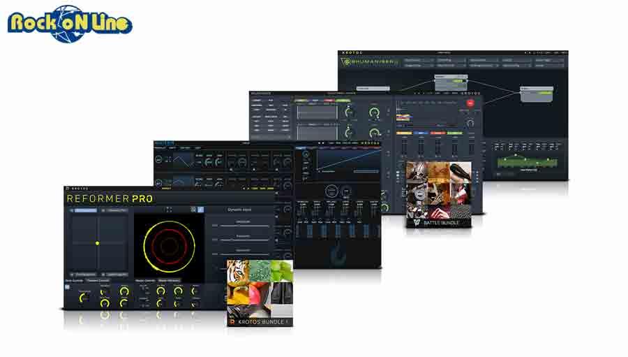 KROTOS(クロトス) Sound Design Bundle 2【※シリアルPDFメール納品】【DTM】