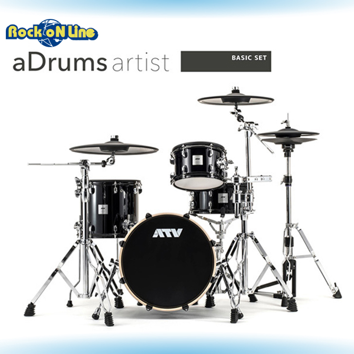 【3%OFFクーポン配布中】ATV(エーティーブイ) aDrums artist BASIC SET【電子ドラム】