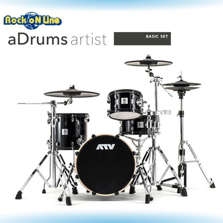 ATV(エーティーブイ) aDrums artist BASIC SET【電子ドラム】