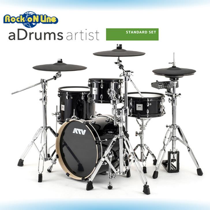 【クーポン配布中! aDrums】ATV(エーティーブイ) aDrums artist STANDARD SET artist【電子ドラム】, 川南町:271bd8c9 --- officewill.xsrv.jp