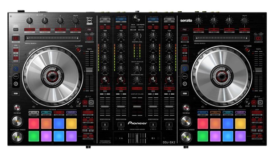 【クーポン配布中!】Pioneer(パイオニア) DDJ-SX2【PCDJ】【ミキサー】【ターンテーブル】