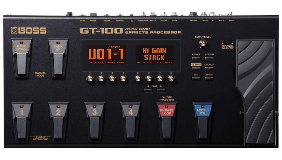 【クーポン配布中!】BOSS(ボス) GT-100【ギターエフェクター】