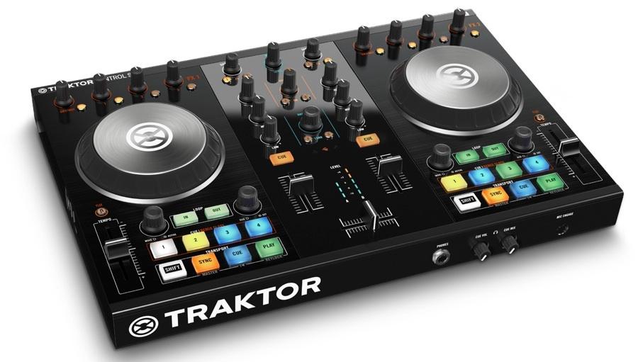 【クーポン配布中!】Native Instruments(ネイティブインストゥルメンツ) TRAKTOR KONTROL S2 MK2【PCDJ】【DJコントローラー】