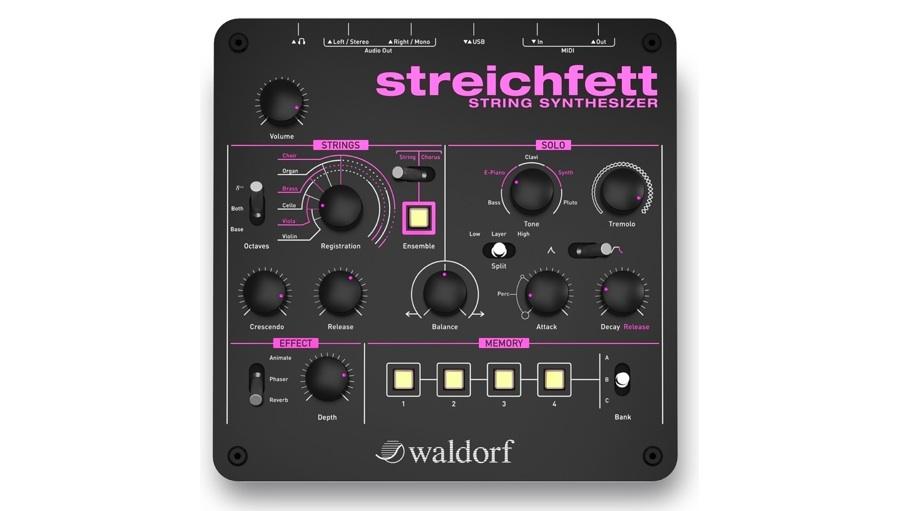 【クーポン配布中!】Waldorf Music(ウォルドルフミュージック) Streichfett【DTM】【シンセサイザー】