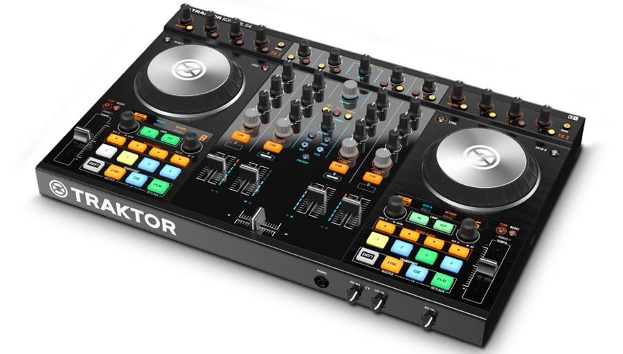 【クーポン配布中!】Native Instruments(ネイティブインストゥルメンツ) TRAKTOR KONTROL S4 MK2【PCDJ】【DJコントローラー】
