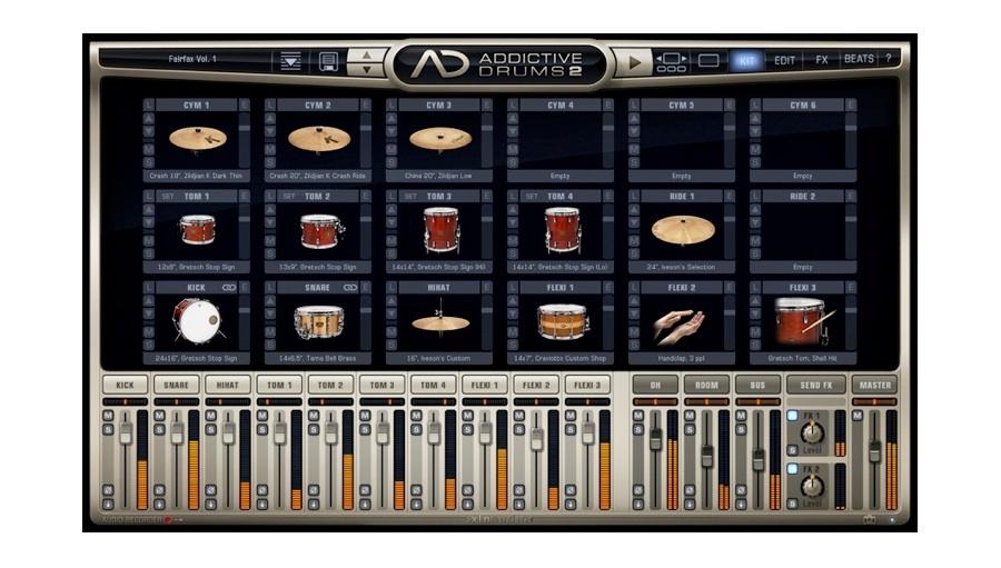 【クーポン配布中!】xlnaudio(エックスエルエヌオーディオ) Addictive Drums 2 Creative Collection【※シリアルPDFメール納品】【台数限定特価!】【DTM】【ドラム音源】