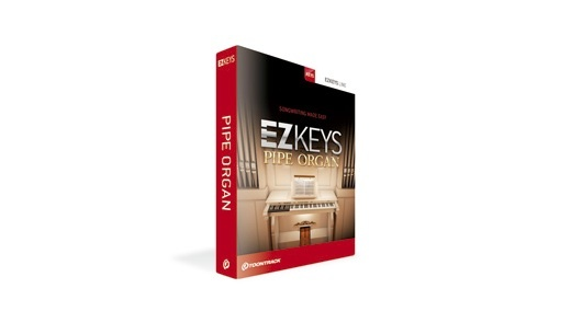 TOONTRACK(トゥーントラック) EZ KEYS - PIPE ORGAN【DTM】【ピアノ/キーボード音源】
