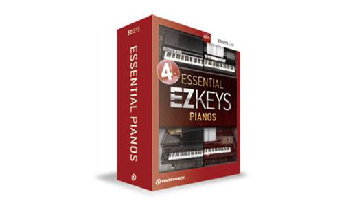 【クーポン配布中!】TOONTRACK(トゥーントラック) EZ KEYS - ESSENTIAL PIANOS【DTM】【ピアノ/キーボード音源】