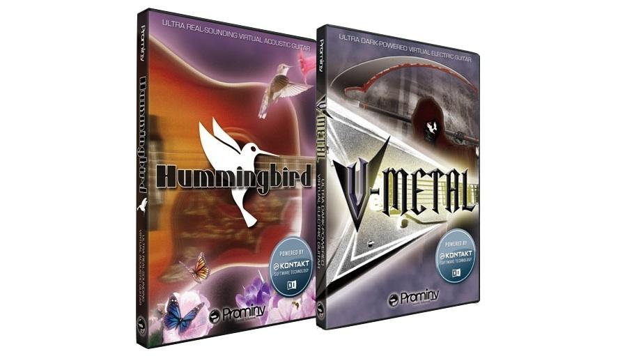 【クーポン配布中!】Prominy(プロミニー) Hummingbird & V-METAL スペシャル・バンドル【DTM】【ソフトシンセ】【ギター音源】