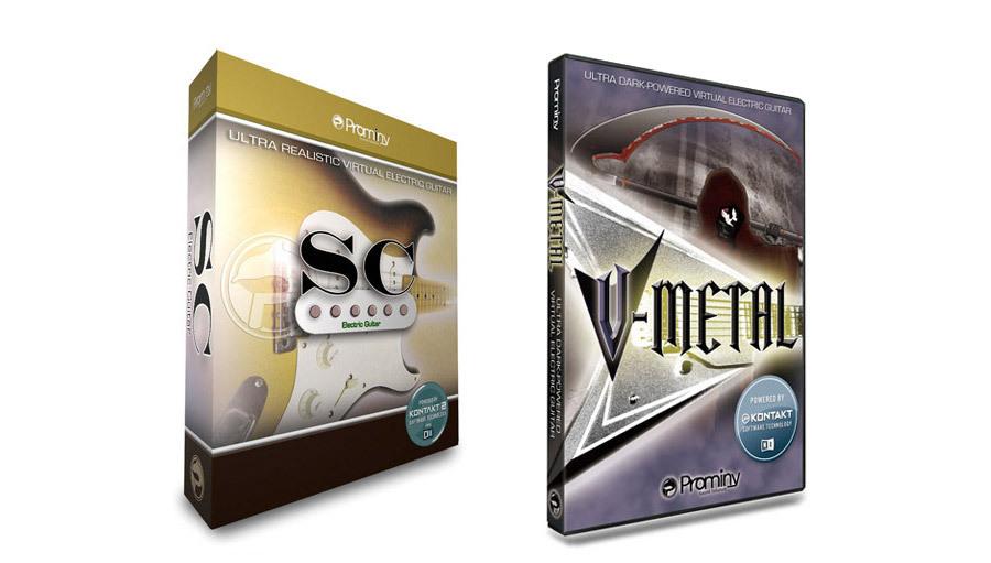 【クーポン配布中!】Prominy(プロミニー) SC & V-METAL Special Bundle【DTM】【ソフトシンセ】【ギター音源】
