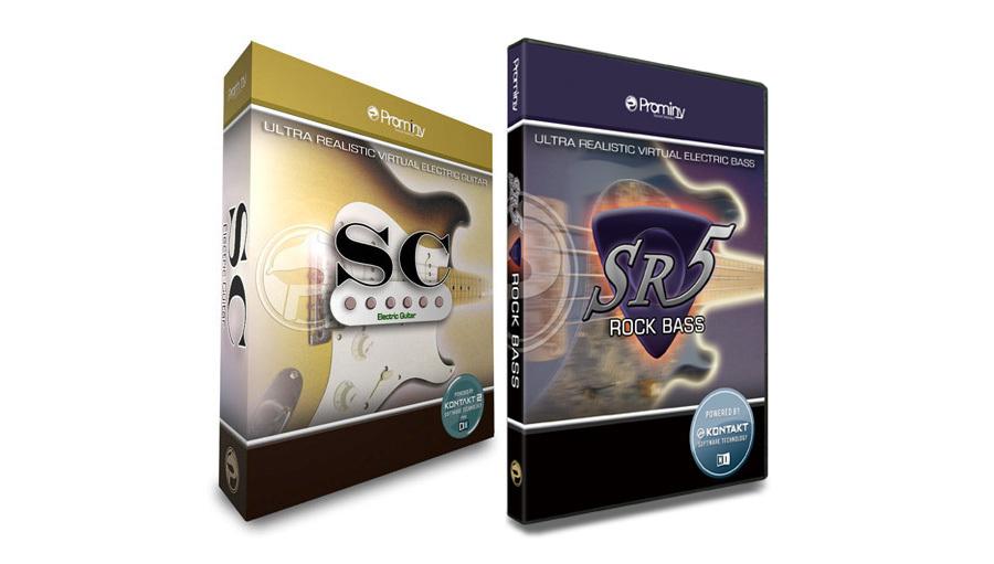【クーポン配布中!】Prominy(プロミニー) SC & SR5 Special Bundle【在庫限り特価!】【DTM】【ソフトシンセ】【ギター音源】【ベース音源】