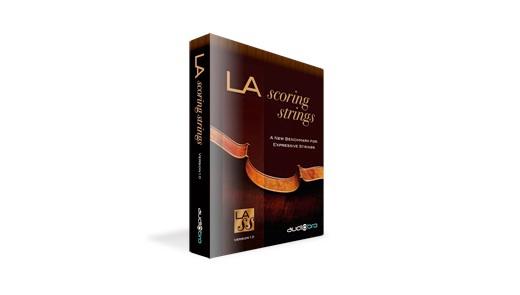 【クーポン配布中!】Audiobro(オーディオブロ) LA SCORING STRINGS 2.5【DTM】【ソフトシンセ】