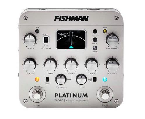 【クーポン配布中!】FISHMAN(フィッシュマン) PLATINUM PRO EQ【ヘッドホンアンプ】